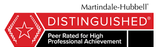 Martindale-Hubbell Distinguished